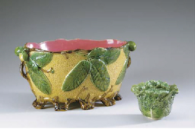 THREE CONTINENTAL EARTHENWARE