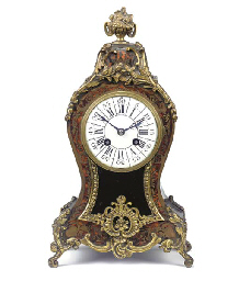 A French ebonised, red boulle
