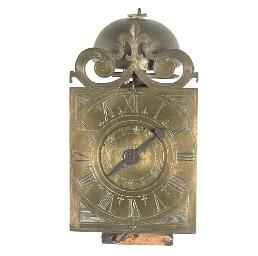 An Italian brass wall timepiec