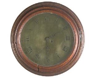 A George III mahogany dial tim