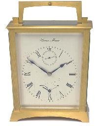 An English gilt-brass chronome