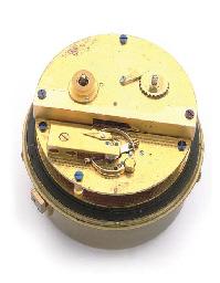An English brass eight-day chr