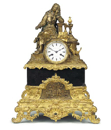A Louis Philippe black marble