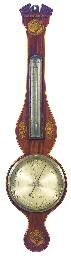 A Regency mahogany and inlaid