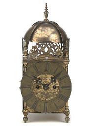 An English brass quarter-strik