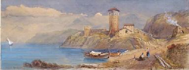 Veduta di Marsala, 1860