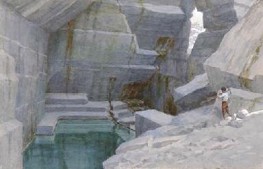 Le cave di marino, 1908 circa