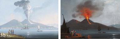 'Cenere del 1834'; e 'Eruzione