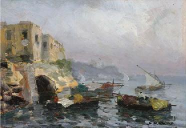 Barche sotto costa