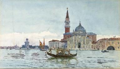 Venezia, gondole e barche a Sa