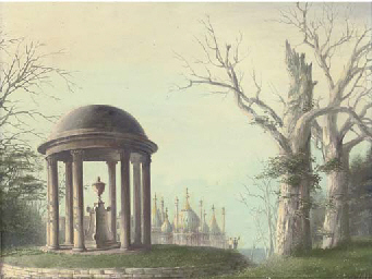 Temple and Pavillion