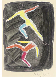 Design for the ballet Zansa