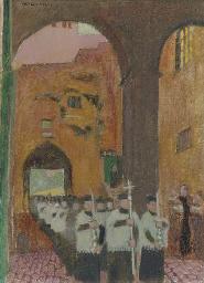 Procession aux quattro Coronal