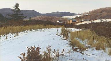 November Snow, Vermont