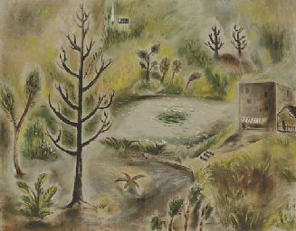 Landscape with Pond