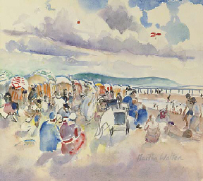 A Day at the Beach, Trouville,
