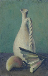 A Jug, Pear and a Fan