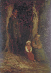 A Family in the Woods