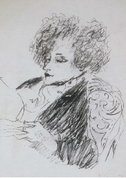 Study of a Lady Reading