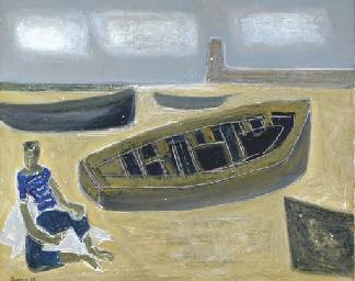 La barque sur le rivage