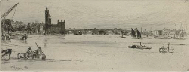 Old Westminster Bridge, (Kenne