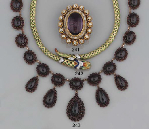 A 19th century diamond and ame