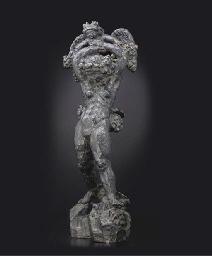 Bacchante portant Eros