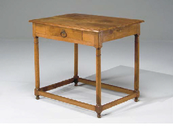 TABLE RUSTIQUE DU XIXEME SIECL