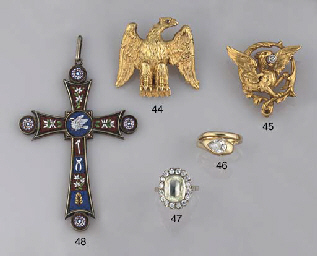 A group of jewellery and costume jewellery