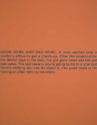 Untitled (Good News, Bad News)