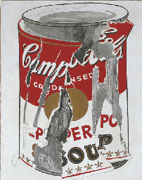 Small Torn Campbell's Soup Can