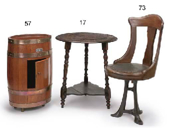 A CRICKET TABLE MADE FROM FOUD