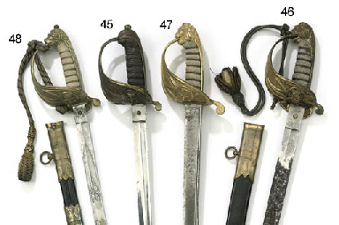 A ROYAL NAVY OFFICERS SWORD