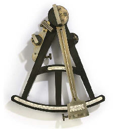 A 19TH-CENTURY OCTANT BY DENNI