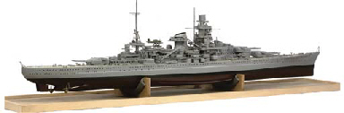 A WELL-DETAILED 1:128 SCALE RA
