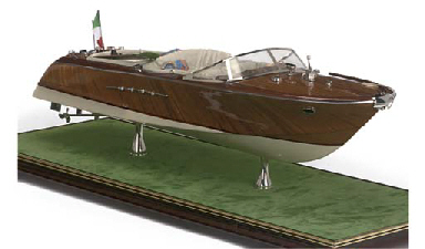 A WELL-PRESENTED MODEL OF A 'R