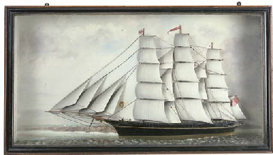 A 19TH-CENTURY SAILOR'S PICTUR