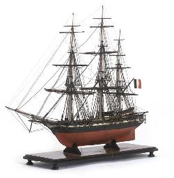 A 19TH-CENTURY SAILOR'S MODEL