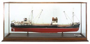 A BOARDROOM MODEL OF THE CARGO