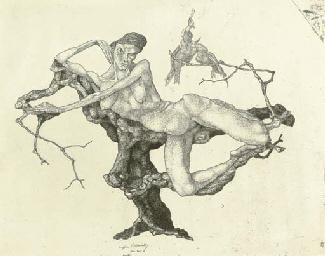 Jungfrau im Baum - Inv. 3 (Kor