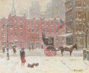 Winter Along 59th Street