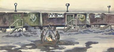 Freight Car Dwellings