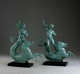 Tritons Riding Hippocamps: A P