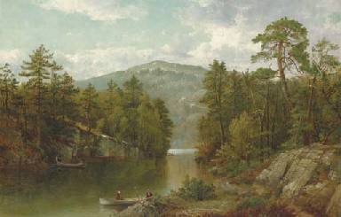 A View on Lake George (Paradis