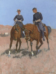 Belle McKeever and Lt. Edgar W