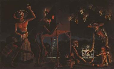 The night festival in Djogja
