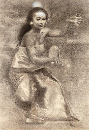 The Balinese dancer Kubil
