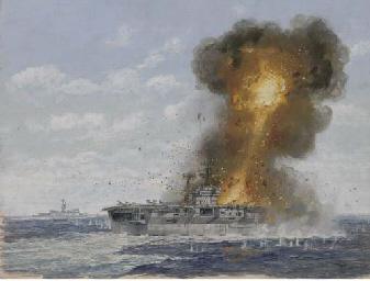 The U.S. aircraft carrier Radn