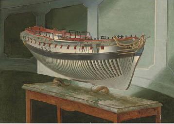 Study of a model of a Royal Na