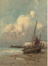 On the coast, Normandy